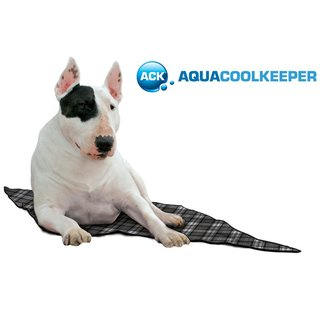 Aqua Coolkeeper Cooling Mat Scottish Grey 05 S 40 cm x 30 cm