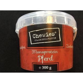 Chewies Trainings-Happen MonoProtein Pferd 300g