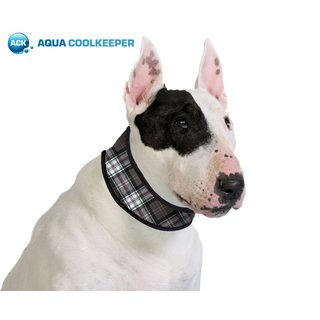 Aqua Coolkeeper Collar Scottish Grey XS 16-19cm